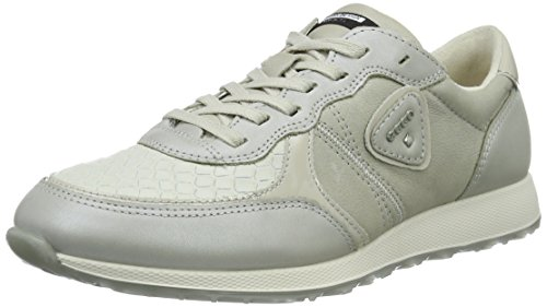 50399gravel 42 Femme Sneak White Ecco Baskets Gravel Gris EU Ladies Gravel Weiß Basses qAxTTYUz