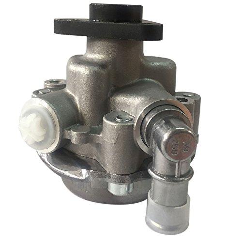 Aluminum Steering System (Professional Aluminum Power Steering Pump for 2001-2006 BMW 325Ci 330Ci 330i)