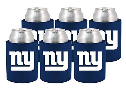 NFL New York Giants Phoozie Set, 6-Pack, Dark Blue/White