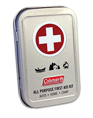 Coleman All Purpose 27 Piece First Aid Kit, Mini Travel Kit from Coleman Repellents