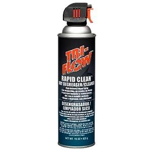 Tri Flow TF0023008 Rapid Clean Dry Cleaner/Degreaser 15 oz. Aerosol