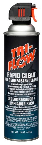 Tri Flow TF0023008 Rapid Clean Dry Cleaner/Degreaser 15 oz. Aerosol