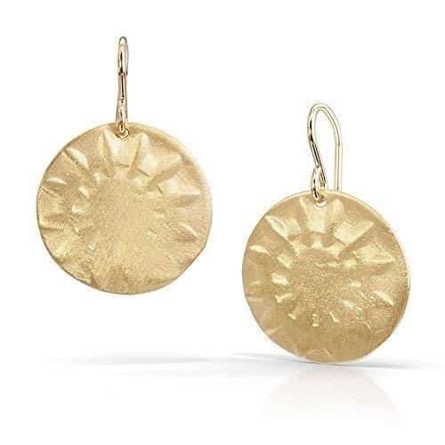 (Sun Earrings - 18K Gold Vermeil)