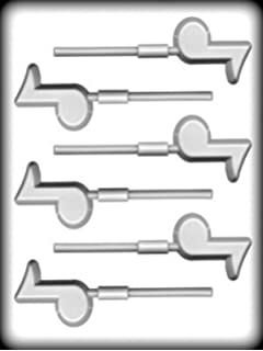 Small Music Note Sucker Hard Candy Mold HS-13936
