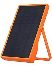 Moniss FA-7002B Lâmpada solar de emergência para acampamento Refletor LED 4 modos de holofote recarregável Carregador de celular para iluminação interna externa Lâmpada de acampamento com suporte