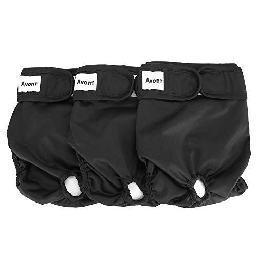🥇 Avont 3 Packs – Pañales Lavables para Perras