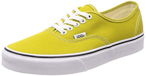 Vans Authentic Mens 9 Womens 10.5 Cress Green True White Skate Shoes -