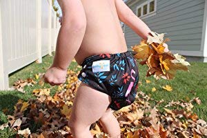 Babygoal Baby Adjustable Reuseable Pocket Cloth Diaper Nappy 12pcs 12pcs Reusable 3 Layer Microfiber Insert 12FB50-1