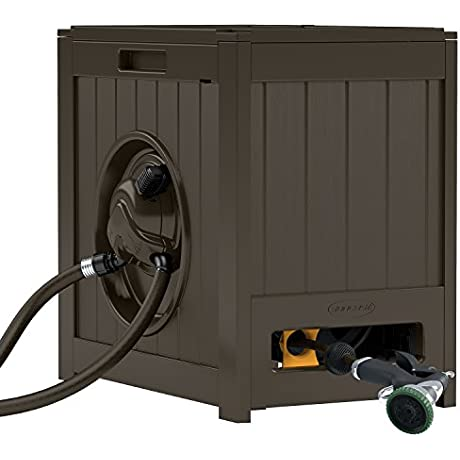 Suncast Aquawinder 125 Foot Capacity Hose Reel