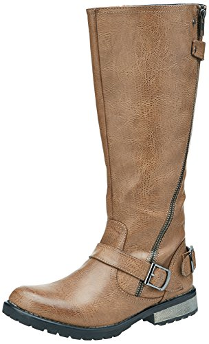 Botas De Mujer Mtng 51443 Balsam Taupe Talla 36