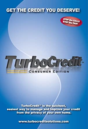 Turbo Credit Software Download (Consumer Edition - Credit Repair)