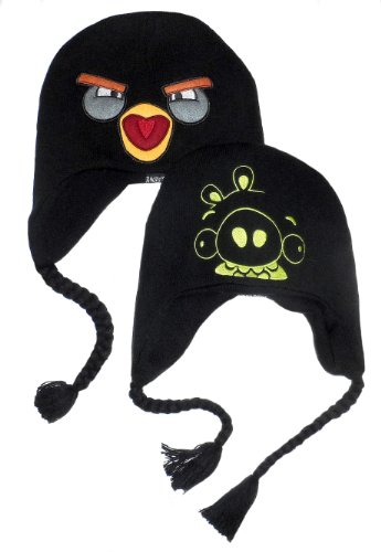 Big Bird Hat (Angry Birds Big Boys' Reversible Knit Hat 8/20)
