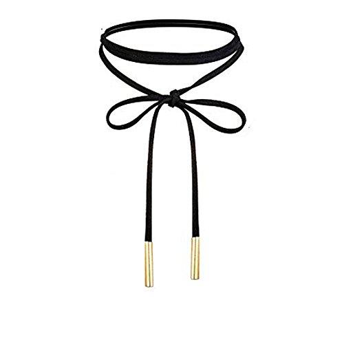 UdobuyPunk Leather Necklace Stretch Necklaces product image