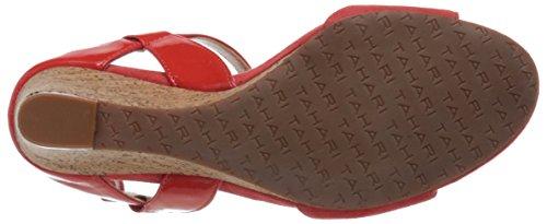 Tahari Fun Sintetico Sandalo con la Zeppa