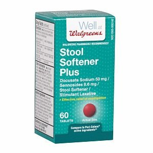 (Walgreens Easy-Lax Plus Tablets, 60 ea )