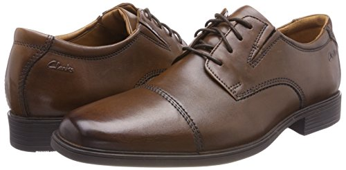 CLARKS-Mens-Tilden-Cap-Oxford-Shoe