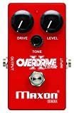 Maxon Compact Series OD808X Overdrive Extreme Bass Distortion Effects Pedal