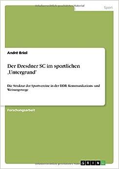 Der Dresdner SC im sportlichen 'Untergrund'