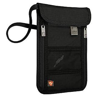 Lewis N. Clark RFID Blocking Stash Neck Wallet, Travel Pouch + Passport Holder for Women & Men, Black (B00I5IWC4G) | Amazon Products