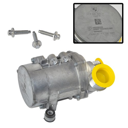 08 x5 bmw water pump replacement - 3