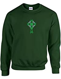 Women's Embroidered Crewneck Sweatshirt Over 80 Designs Choose theme that relates to their or your interest from Irish, Rodeo, Fireman, Unicorn, States, Pets, Cats, Wildlife & more each made to order