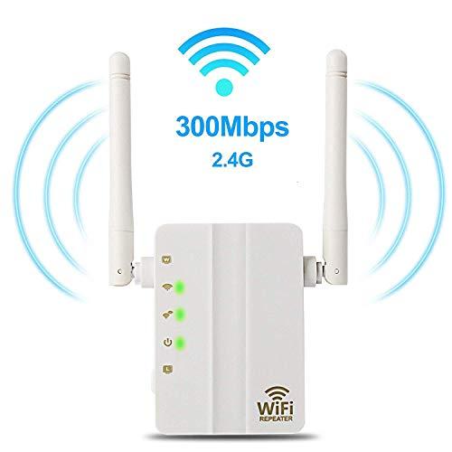 WiFi Range Extender, Wsiiroon 300 Mbps Wireless WiFi ...