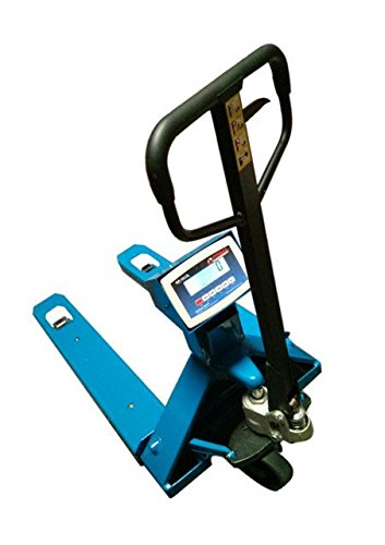 Optima Scales OP-918E2-5000 Pallet Jack Scale 5000 x 1 lb. by Optima Scales
