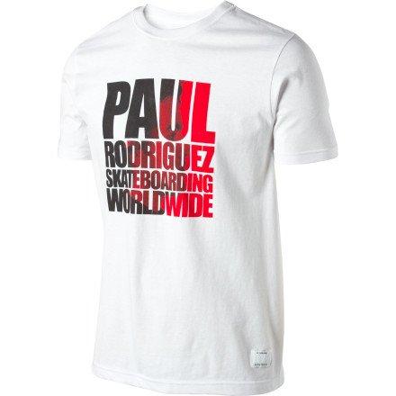Rod Blanco - Nike Men's SB P Rod Photo T-Shirt XX-Large White