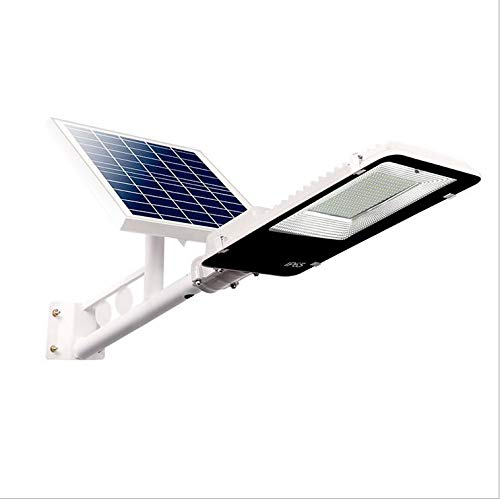 洪水LEDソーラーライト屋外防水街路灯リモートコントロールと光制御高輝度と長い照明時間安全Lamp25w-300w B07RYTV58D 100W