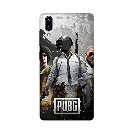 Trends Youth Printed Hard Plastic Vivo V9 Mobile Cover | Vivo V9 Phone case  | Vivo V9 Phone Cover - Pubg Game Abstract Theme