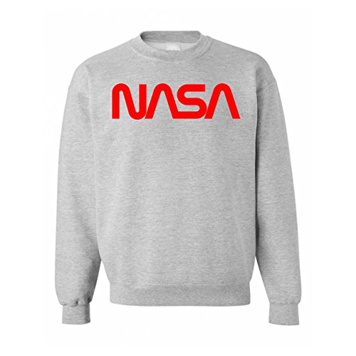 Nasa Worm Red Logo Unisex Sweater