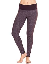 Power Flex Yoga Pants -Heather Chocolate (leg) Chocolate...