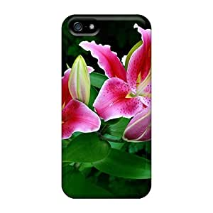 New Spring Easter Lilies Tpu Skin Case Compatible With Iphone 5/5s