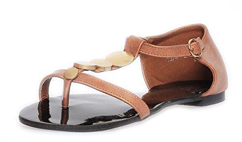 Sandales Bronze à AE femmes mode pour 7 la 1AHWn6wU