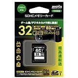 HIDISC SDHCメモリーカード 32GB Class10 UHS-I HDSDH32GCL10UIJP2