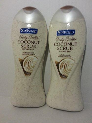 Softsoap Body Butter Coconut Scrub - 4