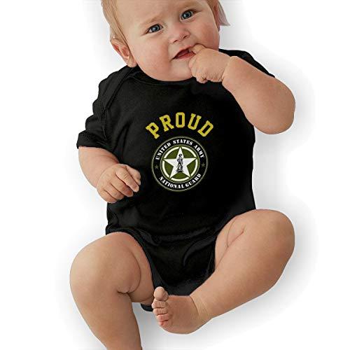 United States Army National Guard Baby Organic Pajamas Organic Bodysuits Black