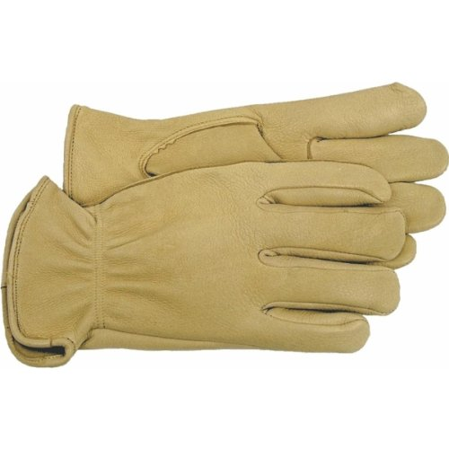 Weather Unlined Glove - Boss Gloves 4085J Jumbo Unlined Premium Grain Deerskin Driver Gloves