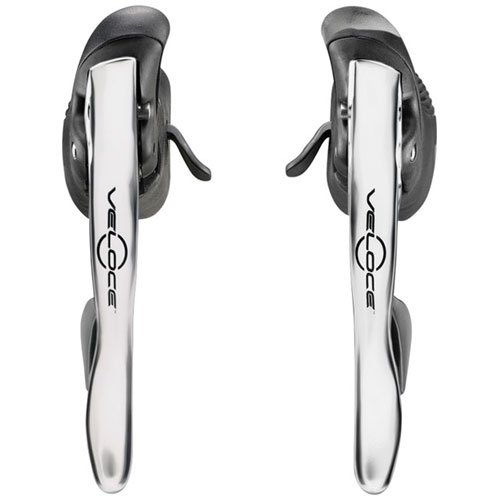 Campagnolo Veloce Power-Shift 10spd ErgoPower Levers Silver 10 Speed Ergopower Levers