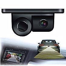 Boddenly 170 Degree Viewing Angle HD Waterproof Car Rear View Camera with Radar Parking Sensor