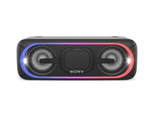 Sony XB40 Portable Wireless Bluetooth Speaker, Black (2017 Model) SRS-XB40/BLK (Certified Refurbished)
