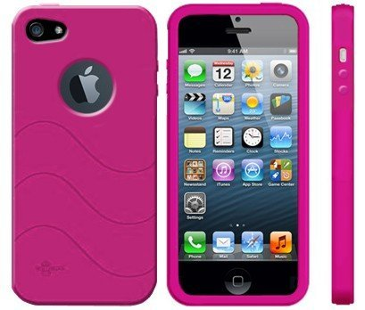 reputable site 12e72 50389 Cellsafe Radiation Exposure Reducer Silicone Case for iPhone 5 Black ...