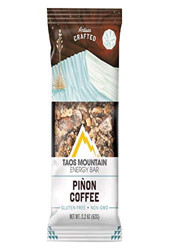 Taosm Bar,Pinon Coffee 2.2 oz (Pack of 12) by Taos Mountain Energy Bar (Image #1)