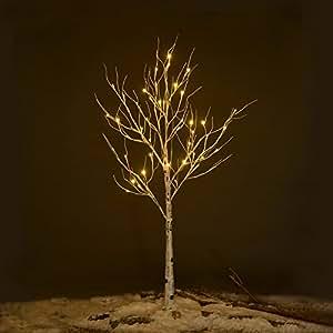 Prelit Outdoor Christmas Trees