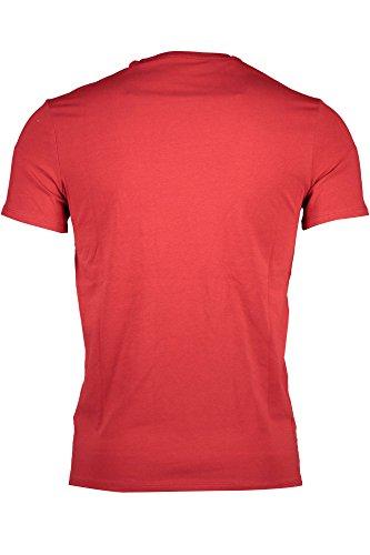 Corte Jeans Guess Rosso Uomo shirt M83i17j1300 T Maniche dTXqwxAgpX