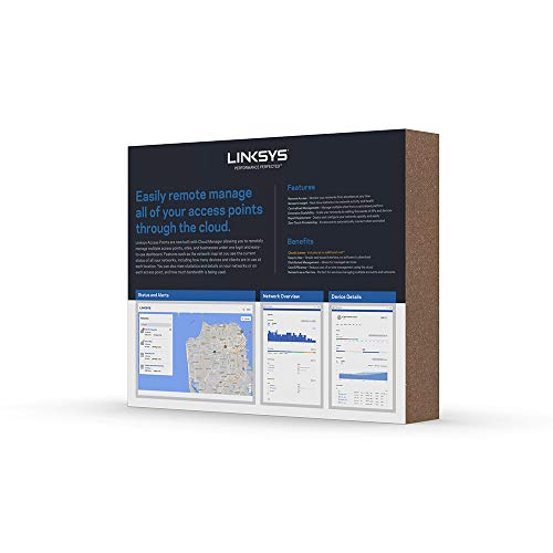 Linksys AC1200 Wireless Access Point for Business (Cloud Management PoE WiFi Access Point) by Linksys (Image #5)