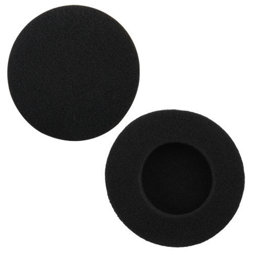 "4 Pairs (2.4"") Replacement Foam Ear Pud Earpads cushion Covers for Philips Sony Sennheiser Audio-Technica Headphone and Logitech H600, H330, H340 / Sony MDR-G45LP, MDR-G55LP, MDR-G410LP, MDR-G101LP, MDR-G42LP, DR-220DPV, MDR-G45 ,IF240R,SRF-HM33, MDR-027 / Rapoo H1030 headset"