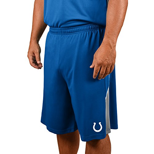 Profile Big & Tall NFL Indianapolis Colts Adult men NFL Plus Synthetic Shorts,3X,Blue - Indianapolis Colts Shorts