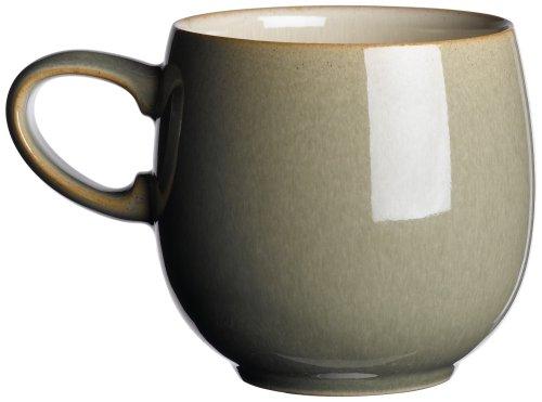 Denby Fire Cream/Sage Small Curve Mug
