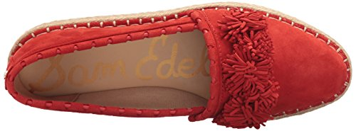 Sam Edelman Womens Issa Loafer Flat Havana Red Suede